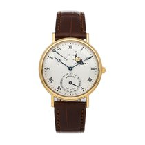 Breguet Classique Yellow gold 36.2mm Silver Roman numerals United States of America, Pennsylvania, Bala Cynwyd
