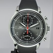IWC Portuguese Yacht Club Chronograph Steel 43,5mm Black