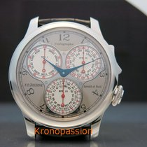 F.P.Journe Souveraine Platina 40mm Argint Arabic