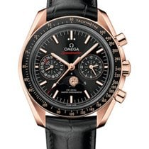 Omega 304.63.44.52.01.001 Or rose 2020 Speedmaster Professional Moonwatch Moonphase 44.25mm nouveau