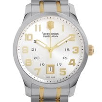 Victorinox Swiss Army Alliance Mens Stainless Steel Quartz...