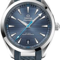 Omega Seamaster Aqua Terra Steel 41mm Blue United States of America, New York, Airmont