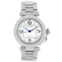 Cartier Pasha C 35 White Dial Stainless Steel Unisex Watch...