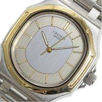Seiko Credor 9661-5000 K14 / Ss Mens Quartz Watch