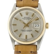 Rolex Datejust Steel And 14k Yellow Gold Pie Pan Dial 36mm...