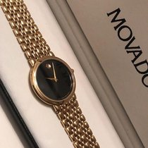 Movado Museum Vintage Black Dial Swiss Made Pre-Owned Mens...