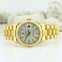 Rolex DayDate 18Kt / 750er Gold Herren Armbanduhr Tag/Datum...