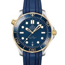 Omega Seamaster Diver 300 M Acero y oro 42mm