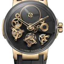 Ulysse Nardin Executive new Manual winding Watch with original box and original papers