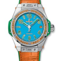 Hublot Big Bang Pop Art Stahl Blau
