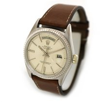 Rolex White gold Automatic Gold 36mm pre-owned Day-Date 36