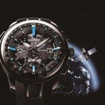 Seiko Staal Chronograaf Quartz 48.1mm Astron GPS Solar