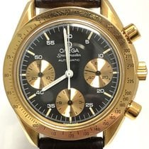 Omega Speedmaster Reduced Yellow gold 39mm Blue Australia, SYDNEY