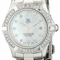 TAG Heuer Aquaracer Lady Steel 27mm Mother of pearl United States of America, New York, New York