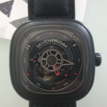 Sevenfriday P3-1 Steel 47.6mm Black