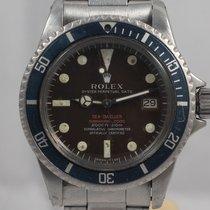 Rolex Sea-Dweller Steel 40mm Red No numerals