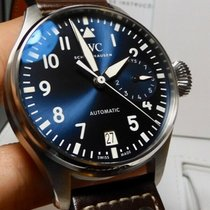 IWC Big Pilot pre-owned 46mm Blue Date Leather