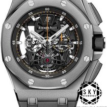 Audemars Piguet Royal Oak Offshore Tourbillon Chronograph 26407TI.GG.A002CA.01 2018 new