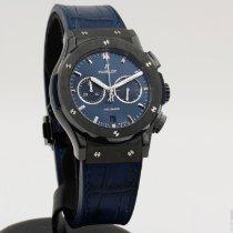 Hublot Classic Fusion Chronograph Cerámica 42mm Azul Sin cifras