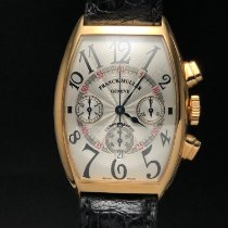 Franck Muller Yellow gold Automatic 5850 CC AT pre-owned