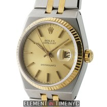 Rolex Datejust Oysterquartz Gold/Steel 36mm Champagne United States of America, New York, New York