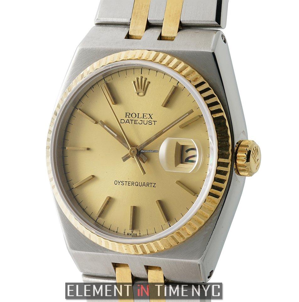 710d8b46e73a9 Rolex Datejust Oysterquartz - all prices for Rolex Datejust Oysterquartz  watches on Chrono24
