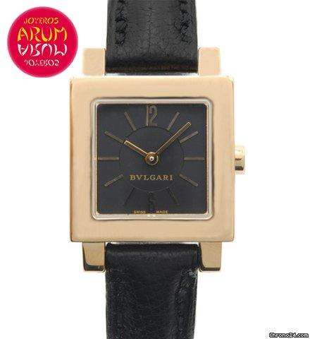 wholesale dealer af8f9 ad969 Bulgari Quadrato Gold