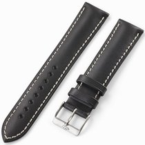 Fortis Leatherstrap Vintage Black With Pin Buckle Brushed...