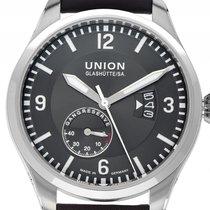 Union Glashütte Belisar Pilot Steel 45mm Grey Arabic numerals
