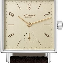 NOMOS Tetra 27 Steel 27.5mm Champagne United States of America, New York, Airmont