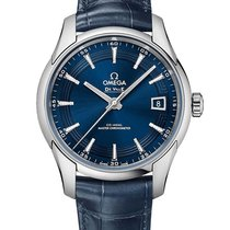 Omega De Ville Hour Vision Steel 41mm Blue No numerals