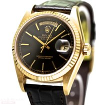 Rolex Vintage Day Date Single Quick Ref-18038 18k Yellow Gold...