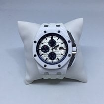 Audemars Piguet Royal Oak Offshore White Ceramic White Rubber