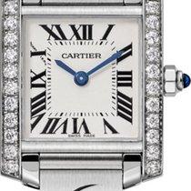 Cartier Tank Française new Quartz Watch with original box and original papers W4TA0008