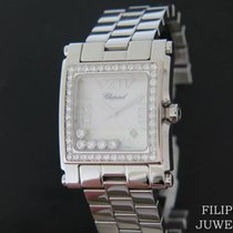 Chopard tweedehands Quartz 36mm Parelmoer Saffierglas