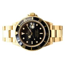 Rolex Submariner Date Yellow gold 40mm No numerals