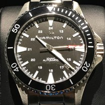 Hamilton Khaki Navy Scuba Steel 40mm Black United States of America, New York, NY
