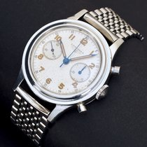 Longines Oversized Steel Flyback Chronograph 30CH Ref. 6474