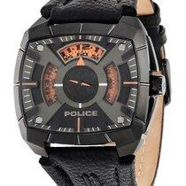 Police Stahl 46mm Quarz PL14796JSU.02 neu