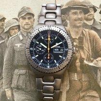 Tutima Military Chronograph Titanium Lemania 5100