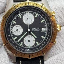 Bulova Bulova Automatic Cronograph Steel/Gold 40mm  Sub 3ATM folosit