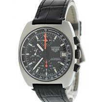 Heuer 38mm Automatic pre-owned Black