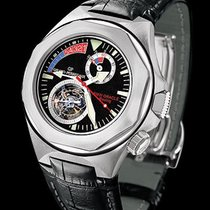 Girard Perregaux White gold Manual winding 46mm new Laureato