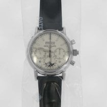Patek Philippe Chronograph 40mm Manual winding 2014 new Perpetual Calendar Chronograph Silver