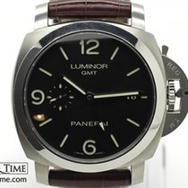 Panerai 44mm Automatic 2010 pre-owned Black