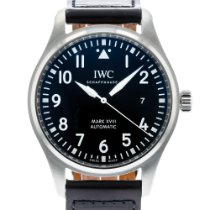 IWC Pilot Mark Steel 40mm Black United States of America, Georgia, Atlanta