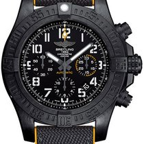 Breitling Steel Automatic Black Arabic numerals 45mm new Avenger Hurricane