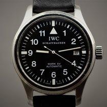 IWC Pilot Mark Staal 38mm Zwart Arabisch Nederland, Maastricht