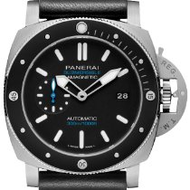 Panerai Luminor Submersible 1950 3 Days Automatic Titanium 47mm Black No numerals United States of America, New York, New York