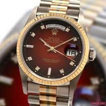 Rolex Or blanc 36mm Remontage automatique 18239 occasion